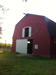 Why yes, yes that is a red barn.